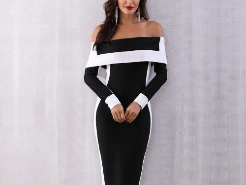 Celebrity Bodycon Bandage Dress