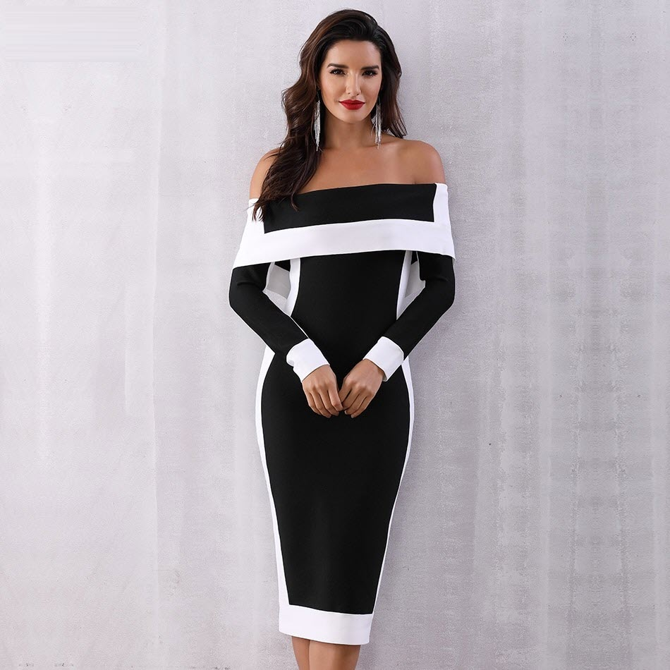 Celebrity Bodycon Bandage Dress