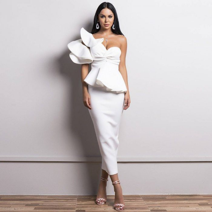 Elegant bandage dress