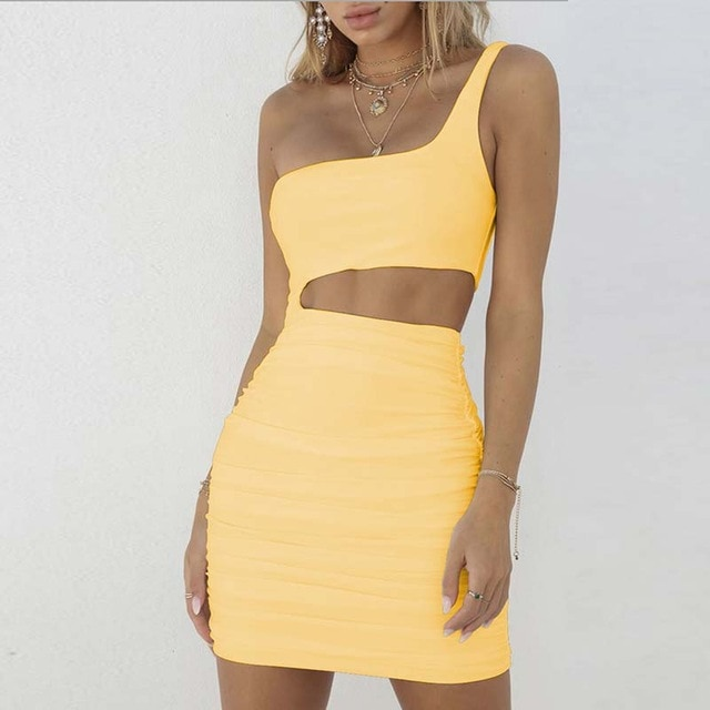 Off-Shoulder Bodycon Bandage Dress