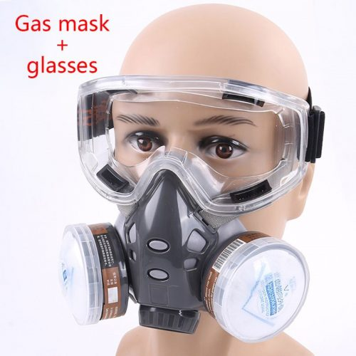 308 Full Face Respirator Dust Gas Mask