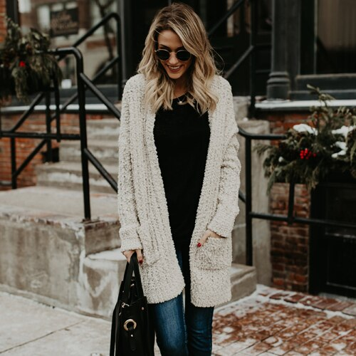 Oversize Knitted Winter Chenille Sweater