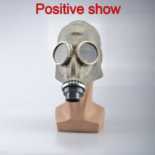 Classic style full face respirator gas mask