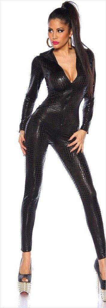 Shiny Catwoman Costume