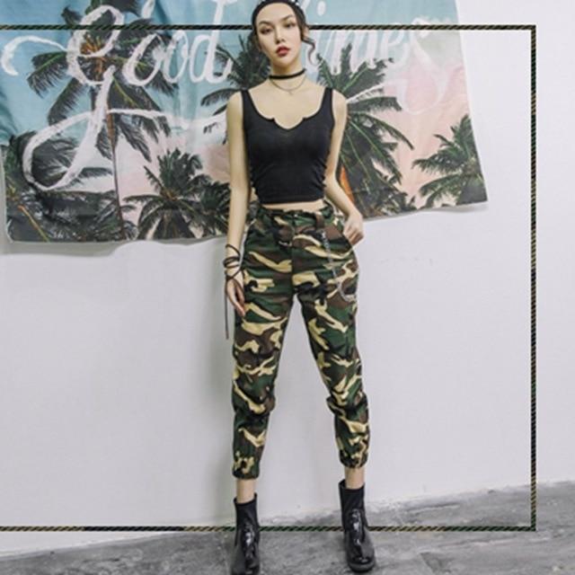 Army Harem Camo Pants