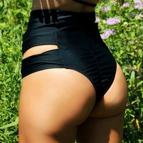High Waist Women Bikini Bottom Shorts