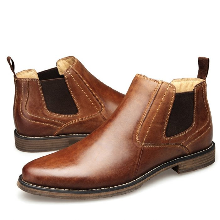 Top Quality Men Chelsea Boots