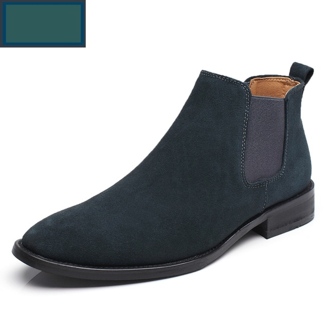 Leather Luxury Men Chelsea Boots