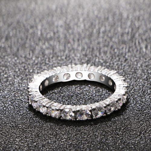 Luxury White Promise Rings