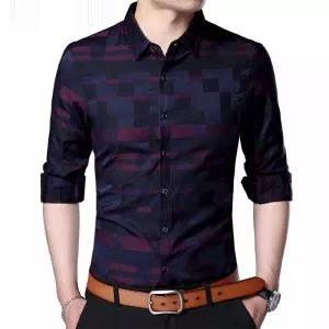 Business Casual Plaid Shirts
