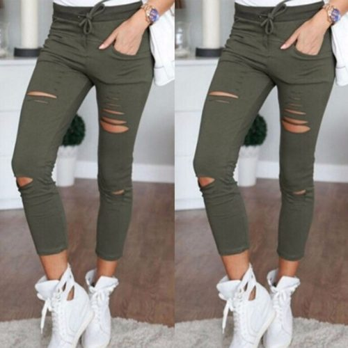 Skinny High Waist Pencil Pants