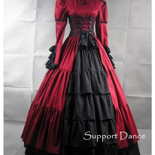 New Ball Victorian Dresses