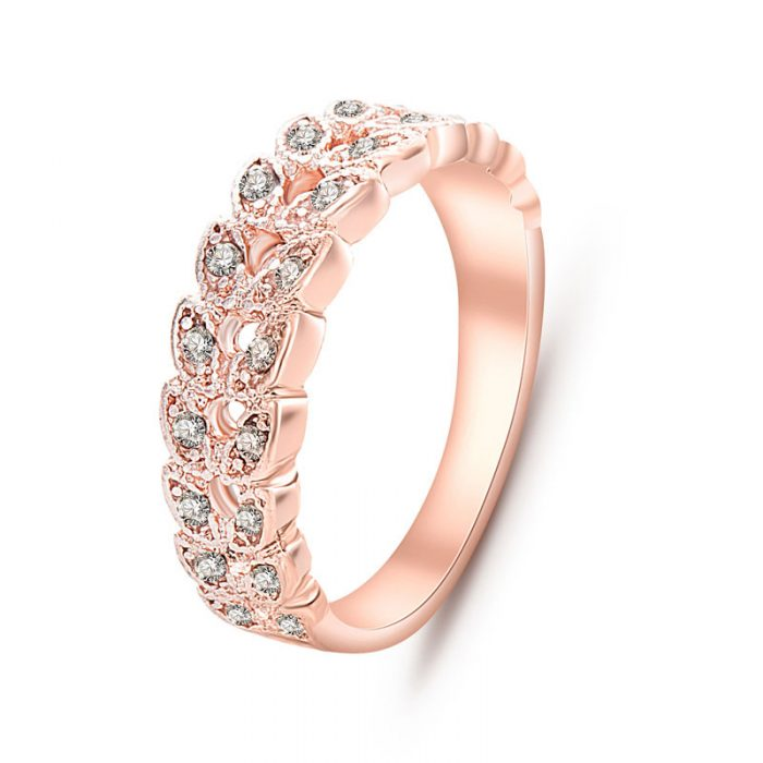 Luxury Rose Gold Engagement Rings