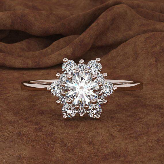 Snowflake Promise Rings