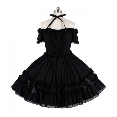 New Black Victorian Dress