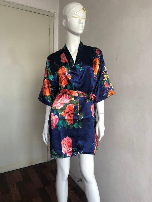 Bride Mini Kimono Robe