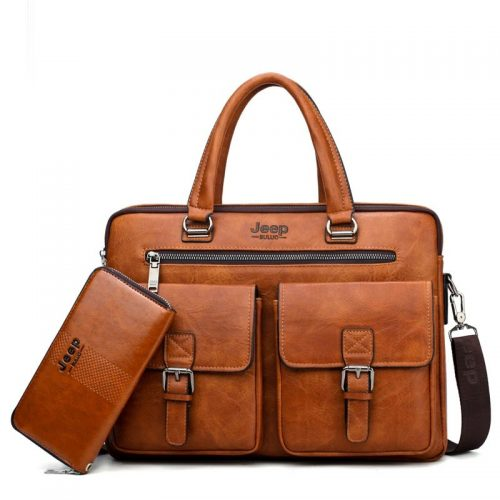 Men Quality Leather Messenger Bag