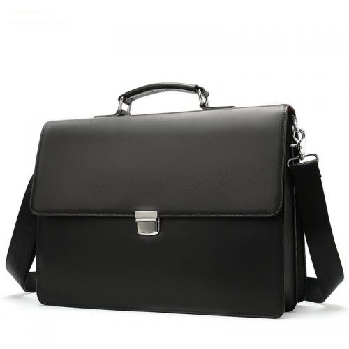 Classic Genuine leather Messenger Bag