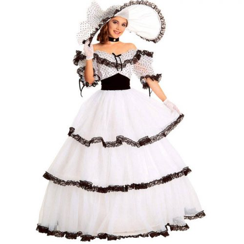 Southern Belle Victorian Dress Costume