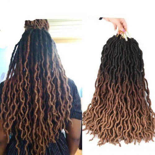Curly Crochet Hair Braid Extensions