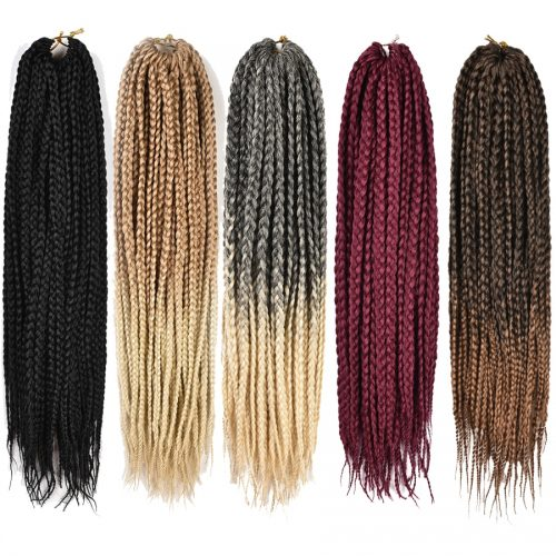 Crochet Hair Braiding Extensions