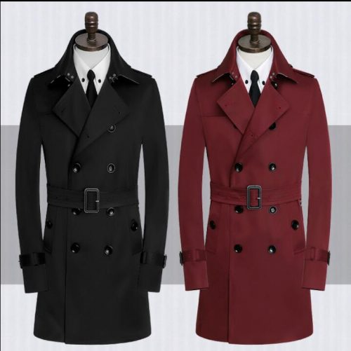 Classic Trench Coat Men