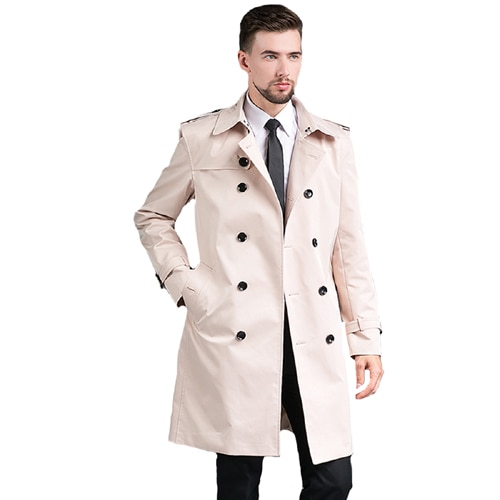 Stylish Trench Coat Men