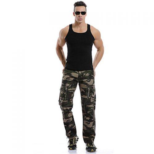 Fashion Men Camo Pants