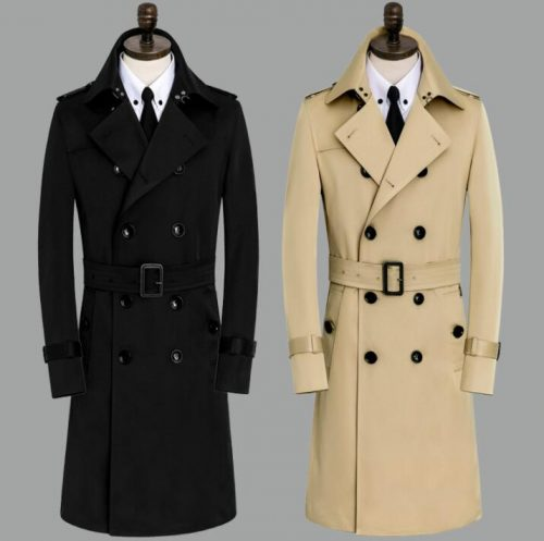 Designer Trench Coat Men