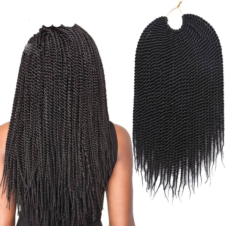 Twist Crochet Braid Hair Extensions