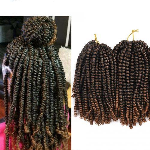 Ombre Spring Twist Hair Extensions