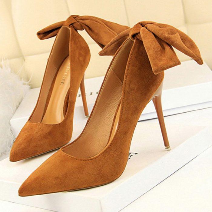 Classic Ankle Strap Stiletto Heels