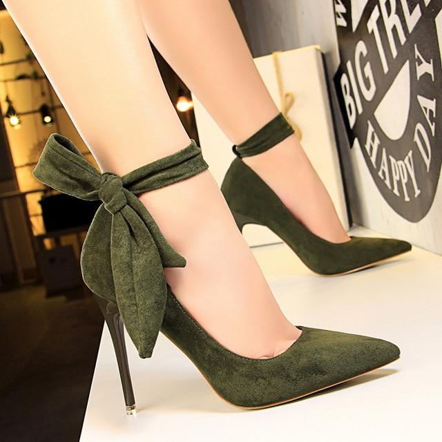 Classic Ankle Strap Stiletto Heel