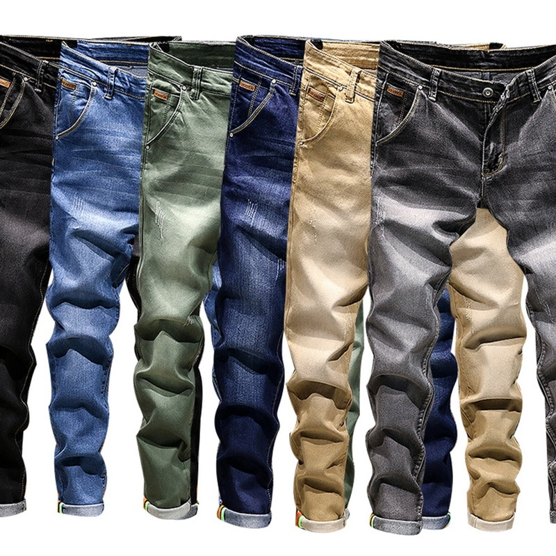 Classic Casual Men Jeans