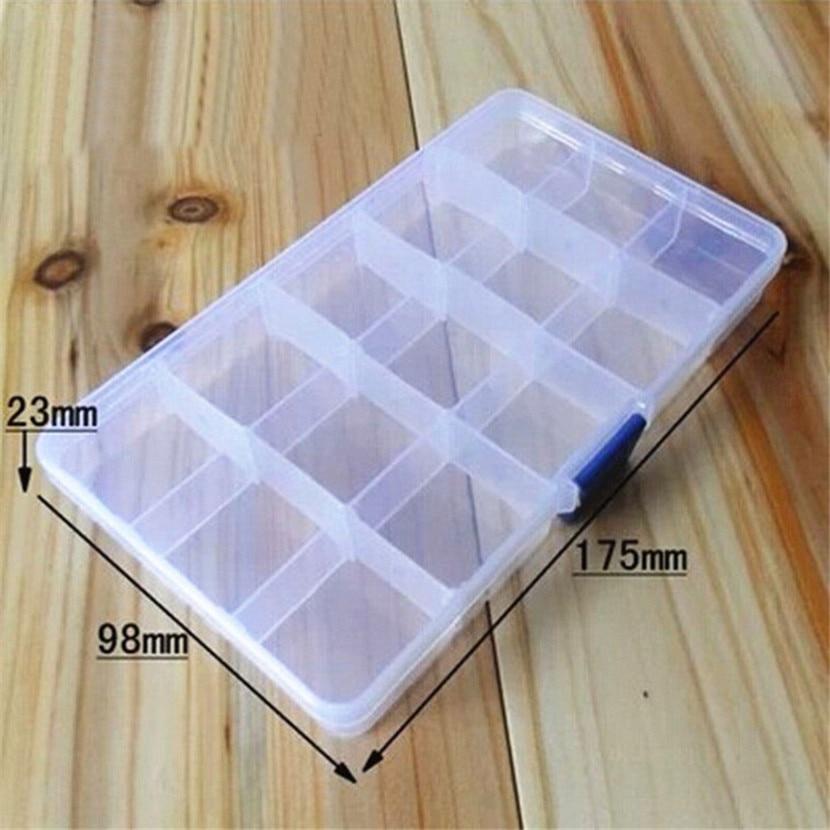 Portable Slots Adjustable Tackle Box
