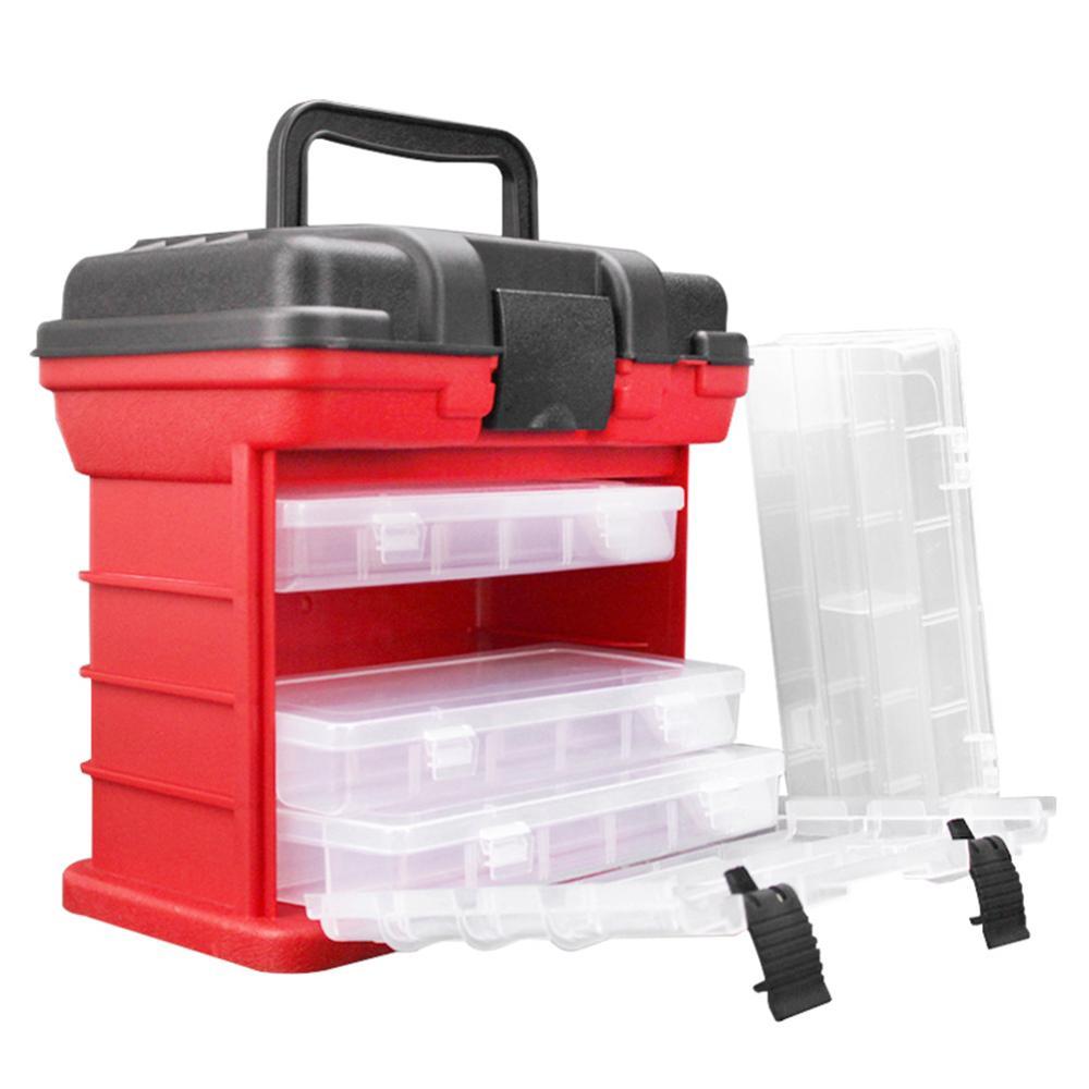 Portable Multi-Layer Tackle box