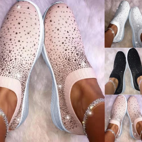 Women Bling Ankle Shoes