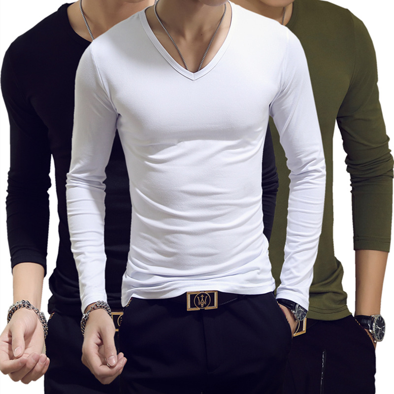 Classic Men Long Sleeve T-shirts