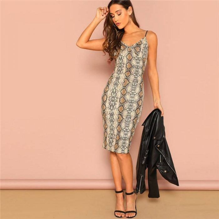 Pencil Skinny Outing Dresses