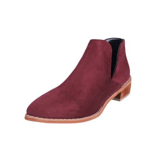 Ankle V-Shape Chelsea Boots