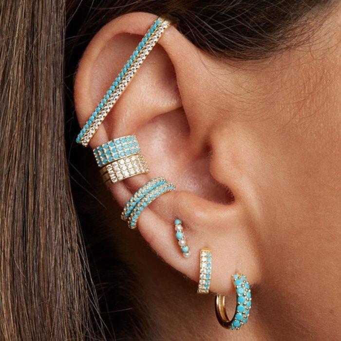 Rectangle Style Ear Cuff