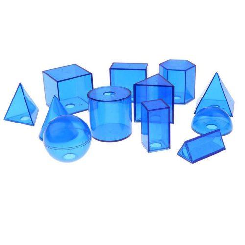 3d plastic geometric math aids