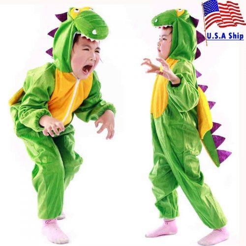 Kids Unisex Dinosaur Costume