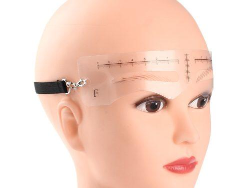 12PCS Fashion Eyebrow Stencils