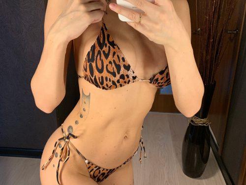 Sexy Leopard Tiny Bikini