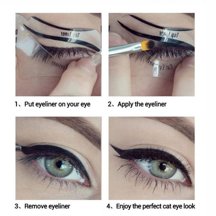 2pcs Pro Eyebrow Stencils