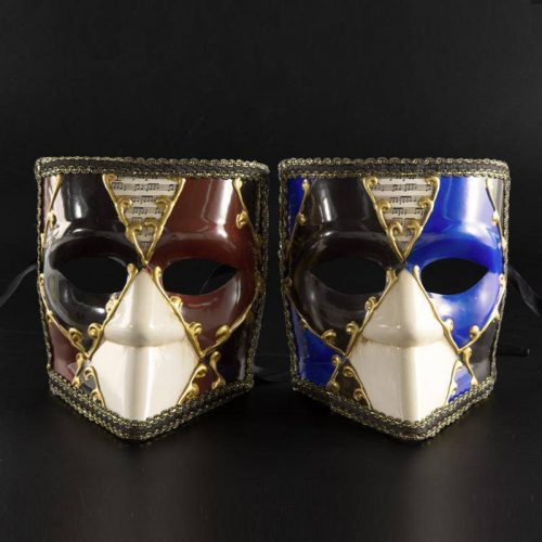 Anonymous Look Drama Masks