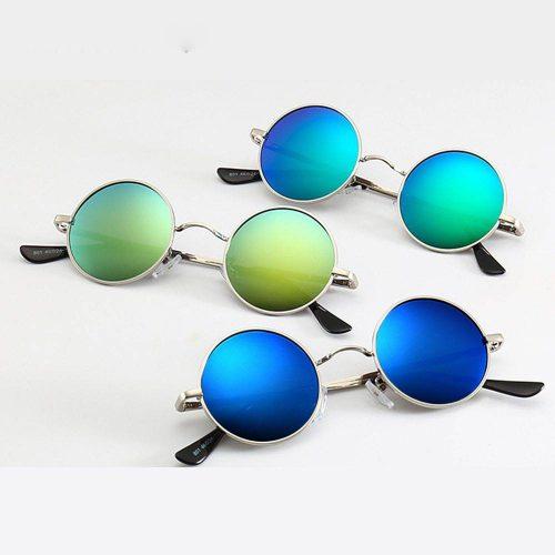 Mirrored lens John Lennon glasses