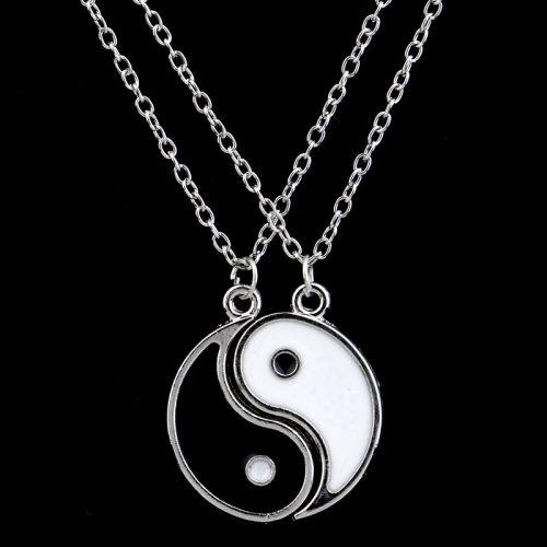 Best Friends Yin Yang Necklace