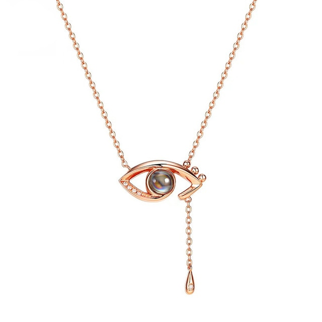 Rose Gold Mood Necklace